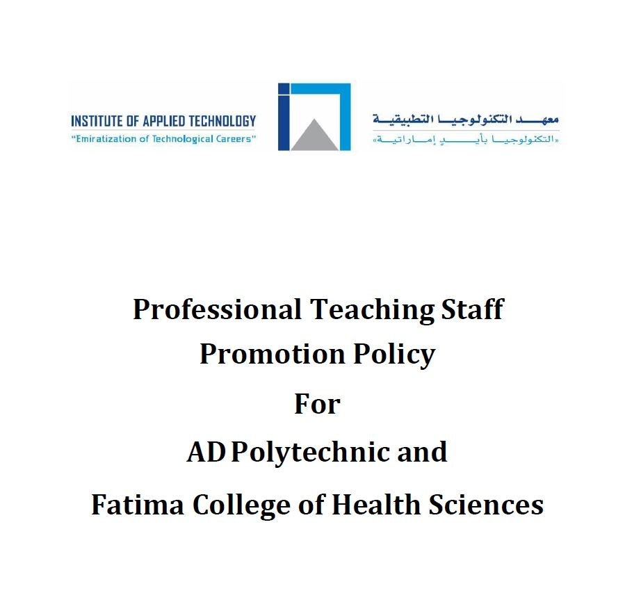 Professional Teaching Staff Promotion policy V1 Oct Edit